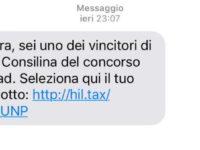 """""""Sei un vincitore del concorso Conad"""". Cassiopea Shopping Center mette in guardia i clienti su sms fake"""