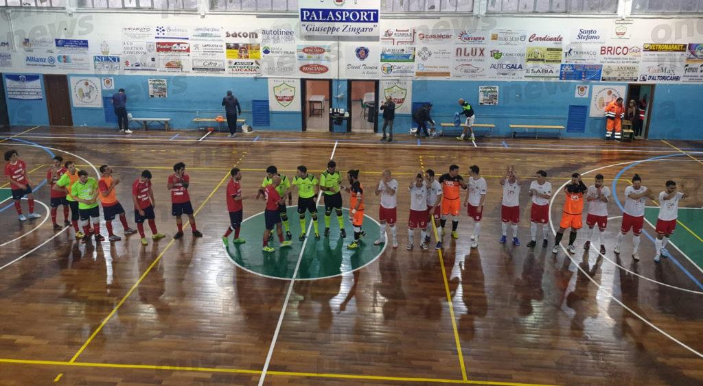 Calcio a 5. Show per lo Sporting Sala Consilina, travolto sotto una valanga di 14 reti il Casagiove - ondanews