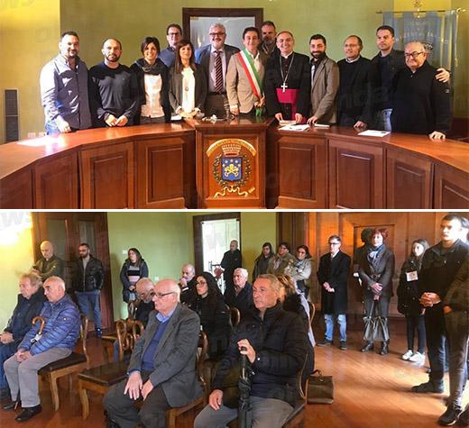 Condivisione e ascolto. Il Vescovo De Luca incontra il Consiglio comunale di San Pietro al Tanagro