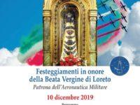 Sant'Arsenio: il 10 dicembre l'Aeronautica Militare celebra la Beata Vergine di Loreto con una Messa