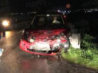 Scontro tra un'auto e un pick up sulla SS 166 tra Atena Lucana e San Pietro al Tanagro. Due feriti