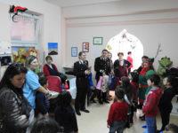 Villa d'Agri: carabinieri portano doni ai pazienti del reparto di Pediatria dell'Ospedale San Pio