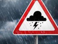 Temporali, raffiche di vento e grandine in Campania. L'allerta meteo della Protezione Civile