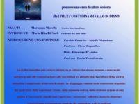 Teggiano: il 14 dicembre l'Associazione AmoDiano presenta il romanzo di Paolo Manzione