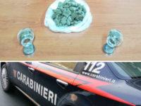 Nasconde la droga in un garage della sua abitazione a Sala Consilina. In manette un 29enne