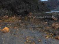 Montesano: riapre il tratto della SR ex SS103 in direzione Tardiano-Moliterno interrotto dalla frana