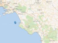 Scossa di terremoto nel mare del Cilento. Epicentro tra Agropoli e Castellabate