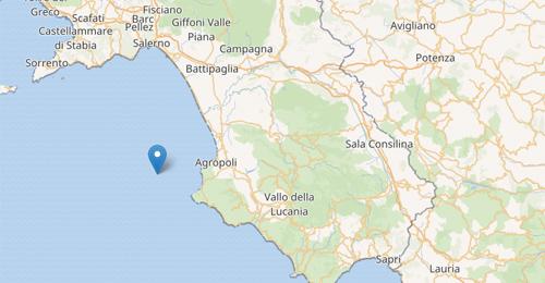 Risultati immagini per scossa terremoto agropoli 23 dicembre