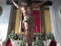 """Benedetto a Vietri di Potenza il """"Cristo radice della Terra"""", opera dello scultore Toni Contatore"""
