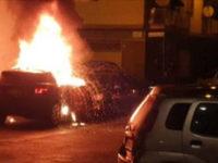 Auto in fiamme nel Rione Paterno di Eboli. Si indaga sulla matrice dolosa