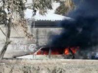 Paura ad Agropoli. Auto parcheggiata in strada prende fuoco e viene distrutta dalle fiamme