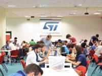 Eccellenze dell'Itis del Cicerone ad Arzano per un corso di programmazione presso la STMicroelectronics