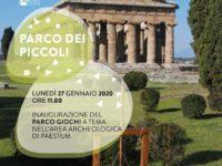 """Nasce a Paestum il """"Parco dei Piccoli"""", macchinari e giochi antichi all'ombra dei templi"""