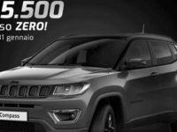 Fino al 31 gennaio imperdibili promozioni alla Cosilinauto su Jeep Compass Night Eagle e Giulietta