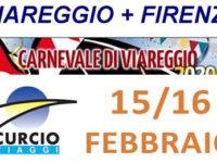 Il 15 e 16 febbraio al Carnevale di Viareggio e a Firenze con l'Agenzia Curcio Viaggi di Polla
