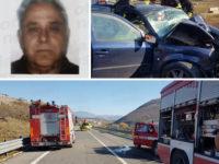 Incidente stradale sulla Bussentina a Sanza. Non ce l'ha fatta Gerardo Petrillo di San Giovanni a Piro