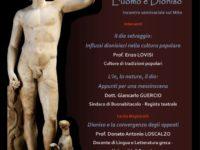 L'11 gennaio la dimensione umana, naturale e divina di Dioniso al centro di un convegno a Buonabitacolo