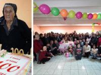 La comunità di Salvitelle in festa per i 100 anni di nonna Maria Paola Scelza