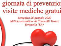 A Tortorella domani visite mediche gratuite con l'associazione Carmine Speranza