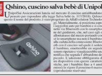 UnipolSai assicurazioni presenta QSHINO, il cuscino salvabebè per il tuo seggiolino auto – LE INFO