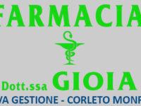 FARMACIA Dott.ssa GIOIA a Corleto Monforte – NUOVA GESTIONE – Orari di apertura