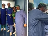 All'ospedale di Sapri eseguito per la prima volta un intervento di Vertebroplastica percutanea