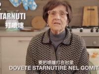 I consigli di Nonna Rosetta contro il Coronavirus.Virale il video di Casa Surace sottotitolato in cinese