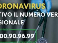 Coronavirus. La Regione Campania potenzia il servizio di risposta del Numero Verde