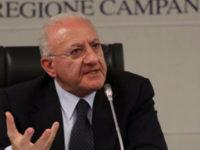 """Caso di Coronavirus ad Eboli. Il Governatore De Luca:""""Sconcertante livello di irresponsabilità"""""""