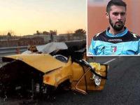 Giovane arbitro muore in un incidente in Piemonte. Domani avrebbe diretto la partita a Brienza