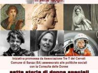 Sanza: l'8 marzo escursione culturale lungo il Bussento con sette storie di donne speciali