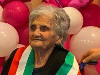 Muro Lucano in festa per i cento anni di nonna Lucia Ceccia