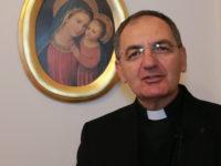 Messa senza fedeli ai tempi del Coronavirus. La benedizione del Vescovo della Diocesi di Teggiano-Policastro