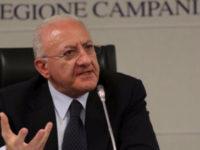 """Emergenza Coronavirus in Campania. De Luca:""""In corso sviluppo di un piano per accelerare l'esito dei tamponi"""""""