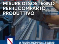 Coronavirus. Regione Campania pronta a chiedere al Governo misure di sostegno per il comparto produttivo