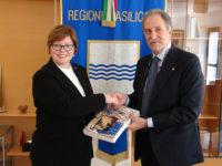 Regione Basilicata. Il Presidente Bardi riceve la visita del nuovo Console Generale degli USA a Napoli