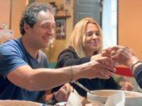 """Claudio Santamaria e Francesca Barra con Casa Surace nel Vallo di Diano per """"Celebrity Hunted"""""""