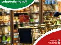 """""""Fai la spesa da casa, te la portiamo noi"""". L'iniziativa del gruppo """"Market Morena Grazia"""" di Teggiano"""