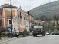 Emergenza Coronavirus. I militari dell'Esercito Italiano arrivano nel Vallo di Diano