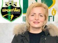 """Sporting Sala Consilina.Barbara Sabia:""""Il Coronavirus ha frenato i festeggiamenti in Serie B ma recupereremo"""""""