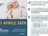 Banca Monte Pruno, misure contro il Covid-19. Nuovi orari delle Filiali e calendario del pagamento pensioni