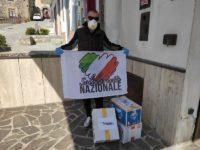 Coronavirus. Solidarietà Nazionale consegna beni primari alle famiglie in difficoltà nel Golfo di Policastro