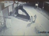 Sassano: doppio tentativo di furto ai danni di un bar. I ladri vengono ripresi dalle telecamere