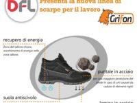 La DFL di Sala Consilina lancia la nuova linea di scarpe da lavoro a marchio Grifon