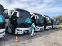 Il 4 maggio le Autolinee Curcio ripartono con servizi integrati e misure straordinarie per l'emergenza Covid