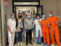 Padula: Vincenzo Petrizzo torna tra le braccia della sua famiglia dopo una lunga battaglia contro il Covid-19