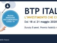 Banca Monte Pruno. Dal 18 al 21 maggio BTP Italia, emissione speciale a sostegno della ripresa economica