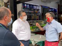 """Ad Agropoli il sindaco fa visita ai commercianti del centro cittadino. """"Sono loro la colonna portante"""""""