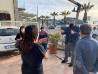Azioni di rilancio della Fase 2 ad Agropoli. Il sindaco Coppola incontra i commercianti