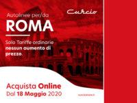 Nuova programmazione per le Autolinee Curcio. Dal 18 maggio corse per Roma, Toscana e Umbria